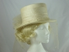  Ivory Veiled Hat